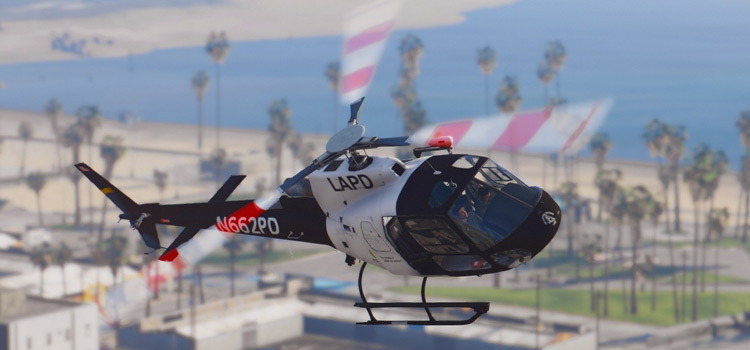 LAPD Helicopter Mod for GTA5