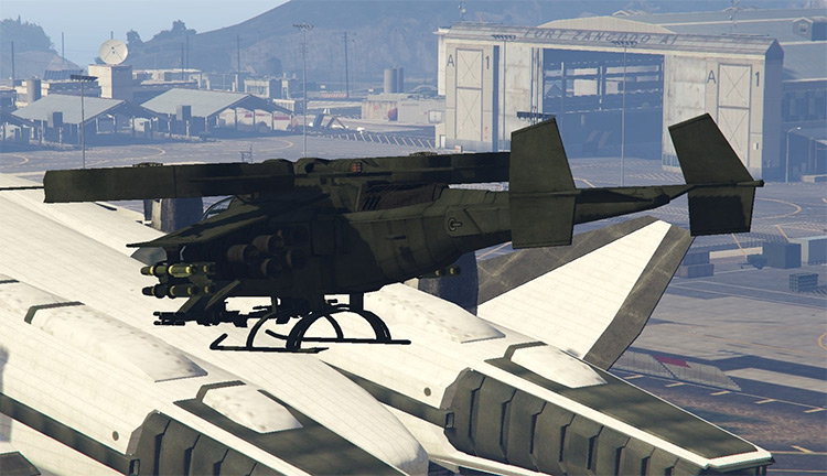 AT-99 Scorpion Helicopter for GTA5