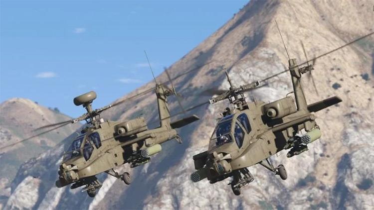 AH-64D Longbow Apache for GTA5