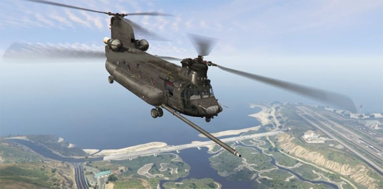 MH-47G Chinook for GTA5