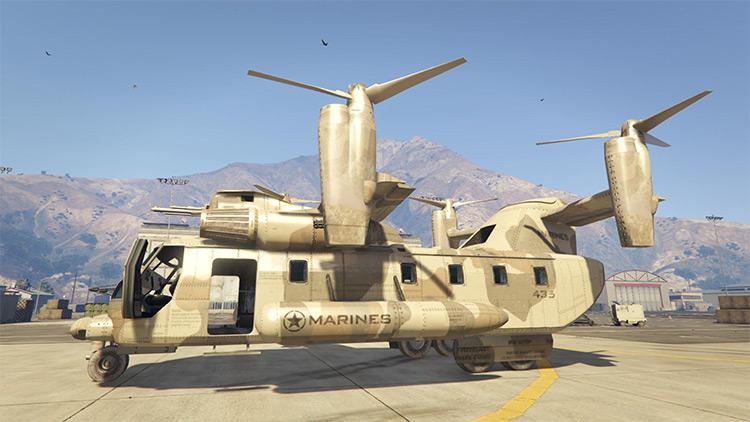 Amphibious Armed Cargo Plane for GTA5