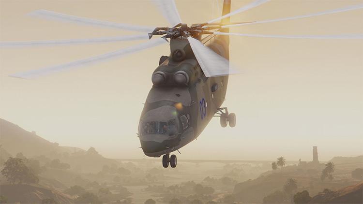 Mil Mi-26 Halo for GTA5