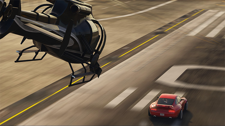 Camera-Chase Helicopters Mod for GTA5
