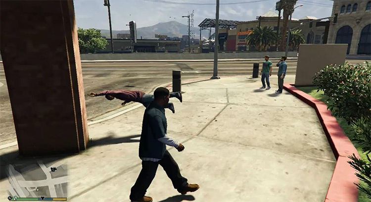 The Force Unleashed mod for GTA5