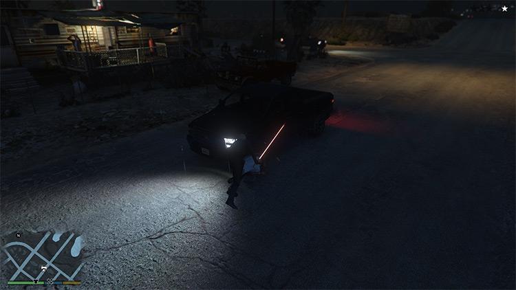 Luke Skywalker mod for GTA5