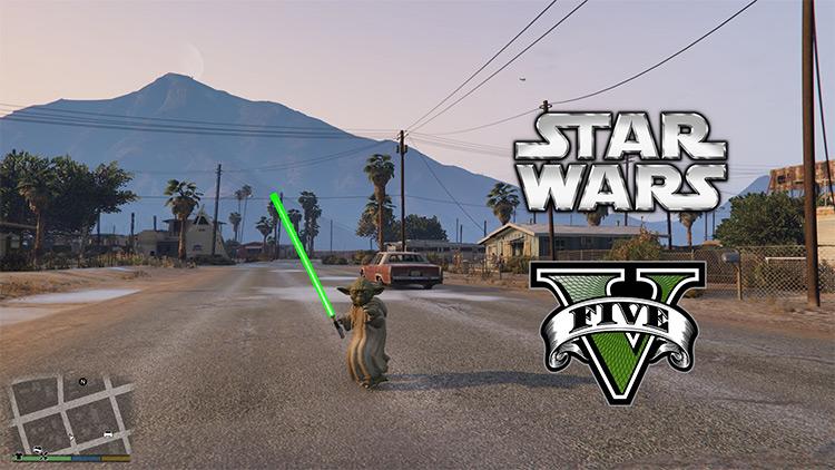 Yoda mod for GTA5