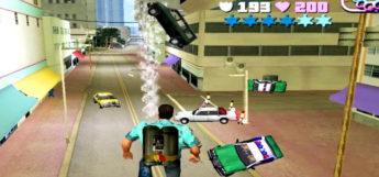 Tornado mod preview in GTA Vice City