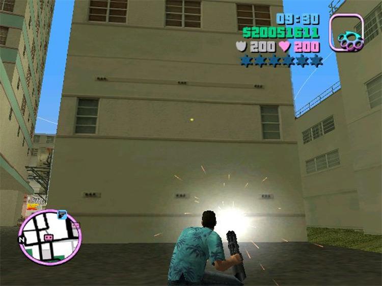 Plasma Gun Mod for Vice City