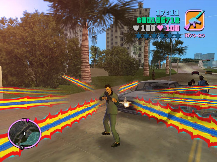 Bullet Color mod for GTA Vice City