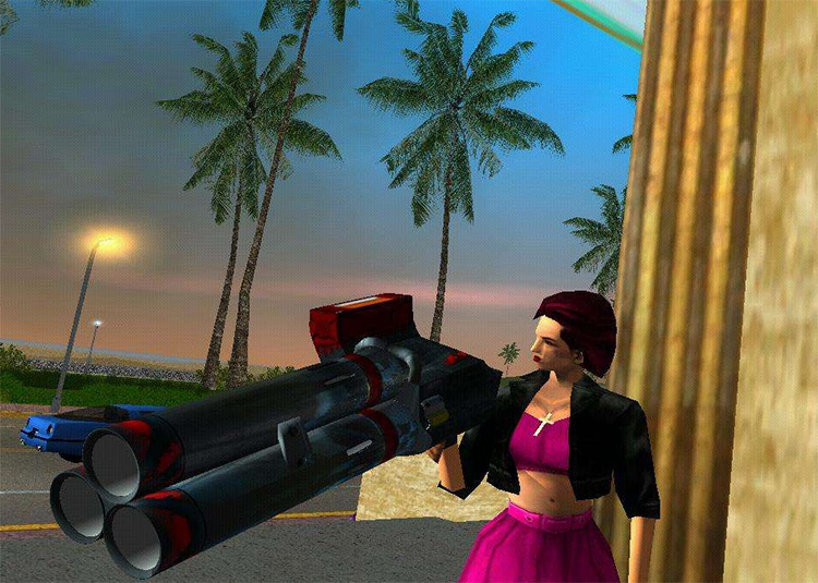 Rocket Launcher UT2003 mod for ViceCity