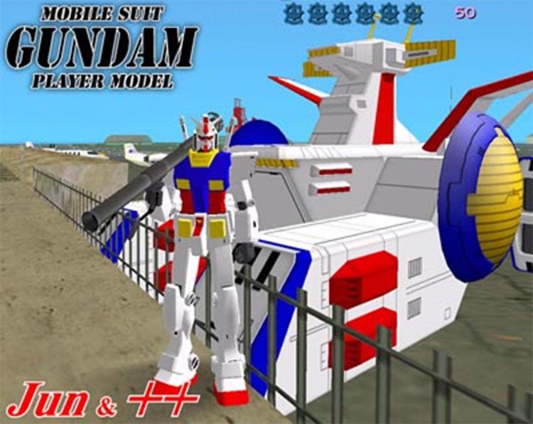 Gundam Weapon Mods GTA Vice City