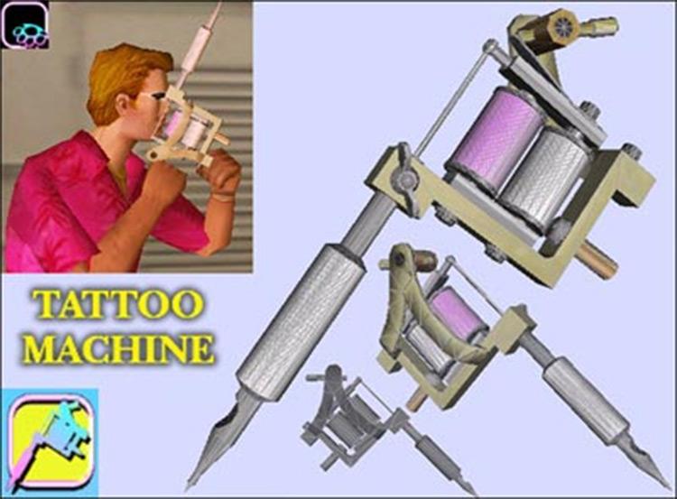 Tattoo Machine in Vice City