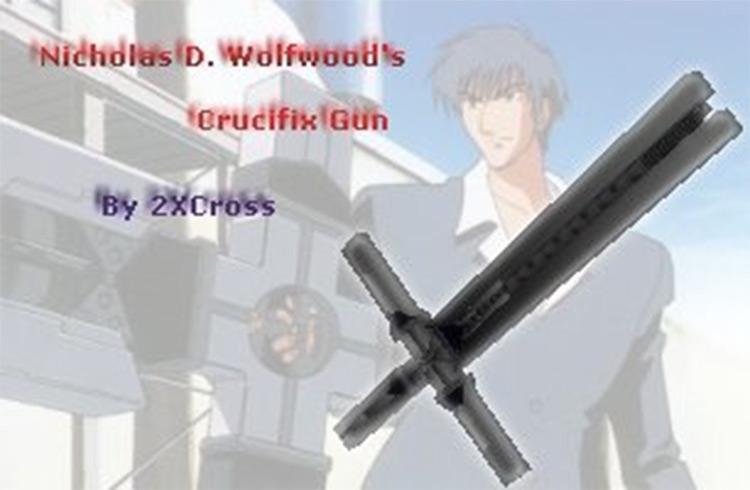 Wolfwood's Gun in Vice City