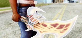God of War Sword in GTA: San Andreas - Modded Screenshot