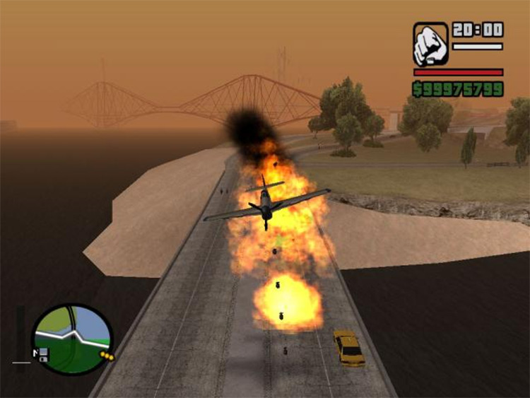 AirStrike Mod for San Andreas