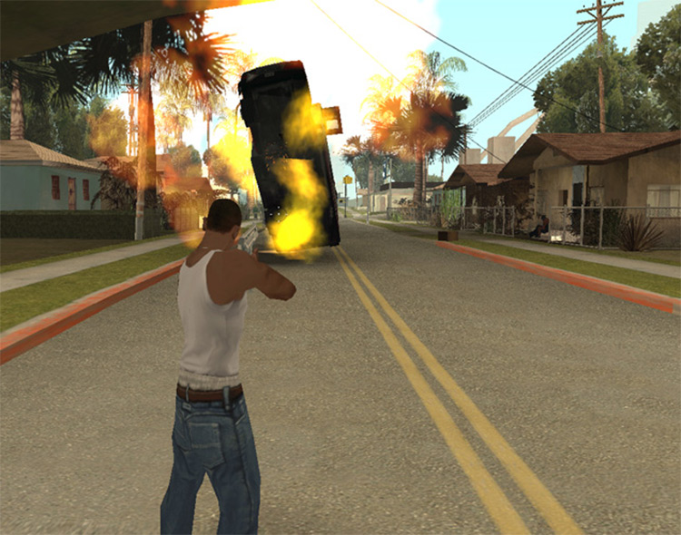 Pulse Launcher for San Andreas