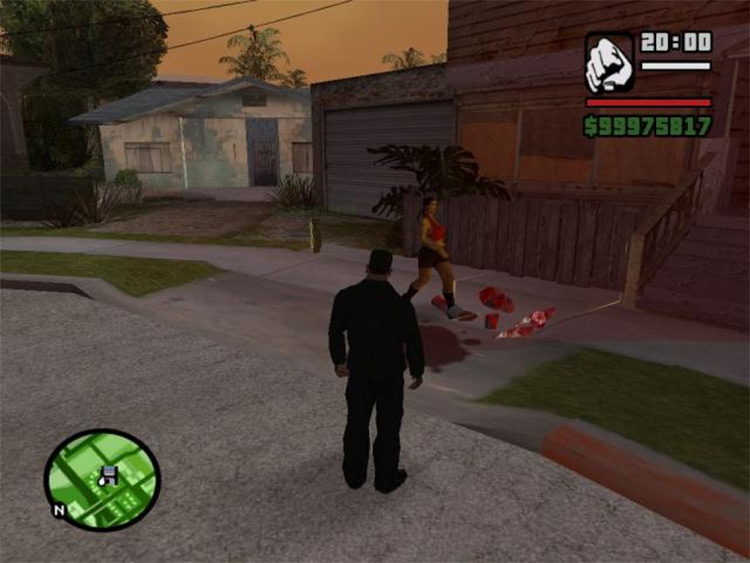 Laser Weapon Mod for San Andreas
