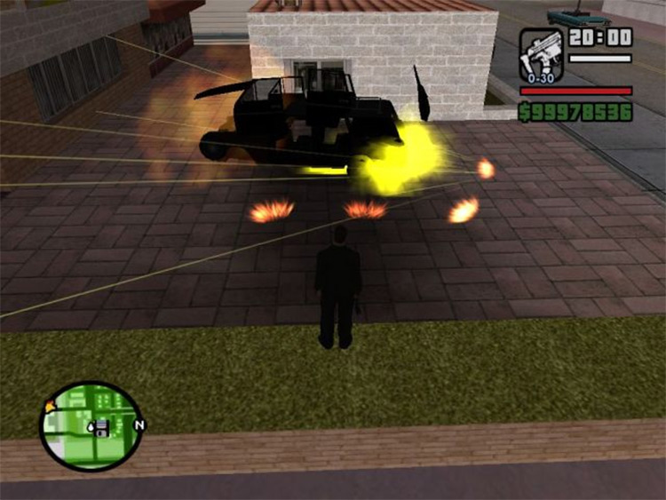 M18 Claymore AP Mine in San Andreas