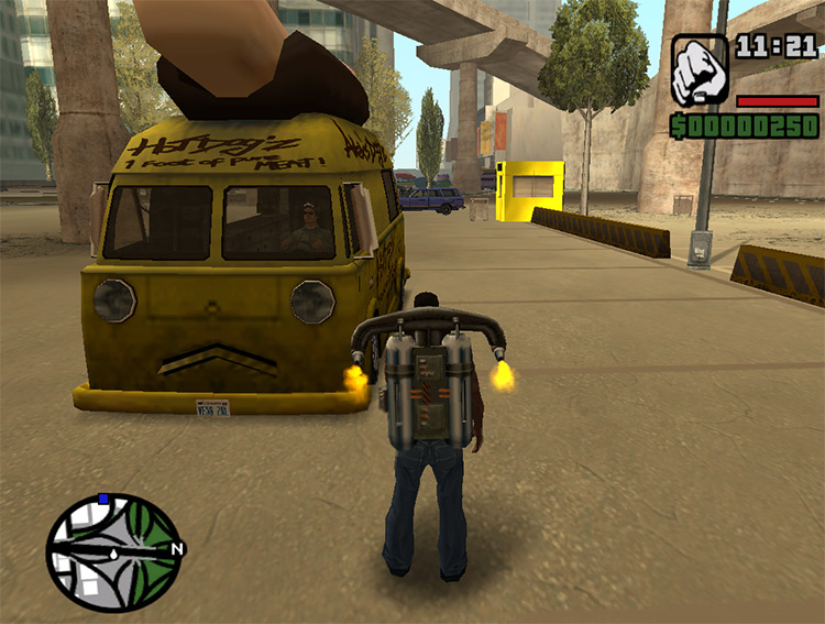 Rainbomizer: San Andreas Randomizer mod