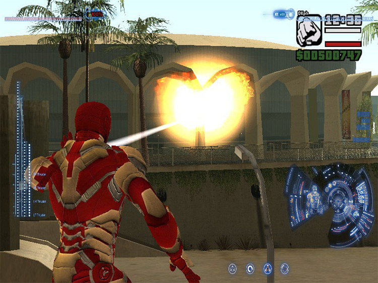 Iron Man Mod in GTA San Andreas