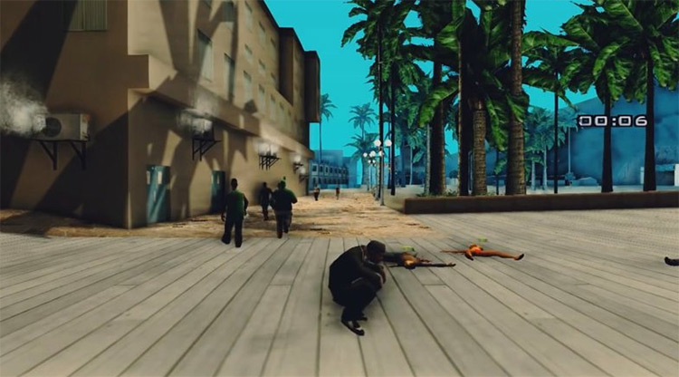Atomic Poop in GTA San Andreas