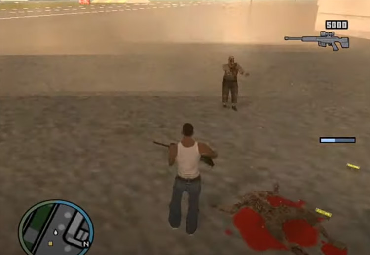 Zombie Alarm - GTA San Andreas mod