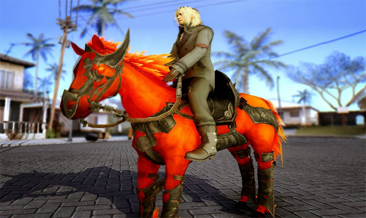 Redhare Horse mod San Andreas