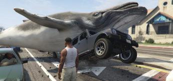 Whale spawner mod - funny GTA5 screenshot