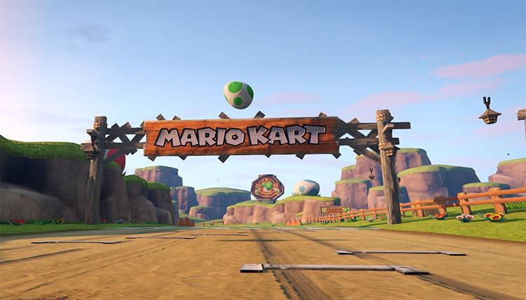 Mario Kart 8 modded into GTA5