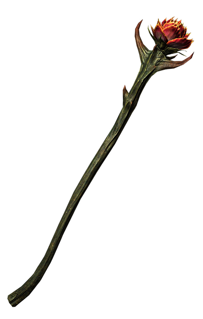 Sanguine rose skyrim staff