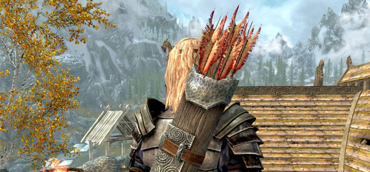 Skyrim arrows modded