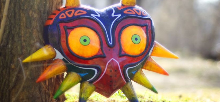 Featured majoras mask diy project