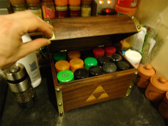 Zelda treasure chest diy