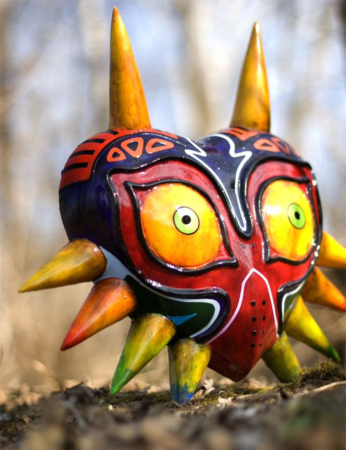 Majoras Mask replica diy