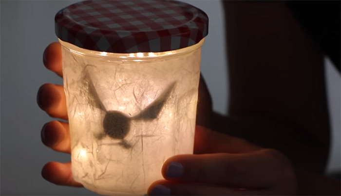 Navi fairy in a jar diy