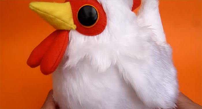 Cucco plush diy project