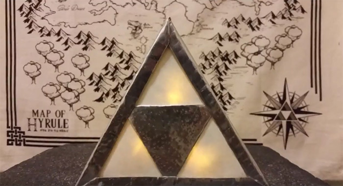 Triforce lamp diy