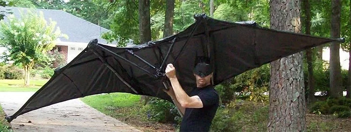 Batman diy kite
