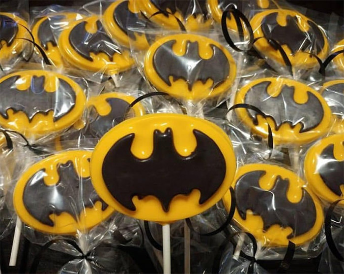 Batman lollipop recipes