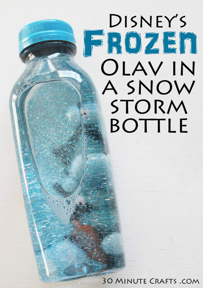 Olaf storm in a bottle