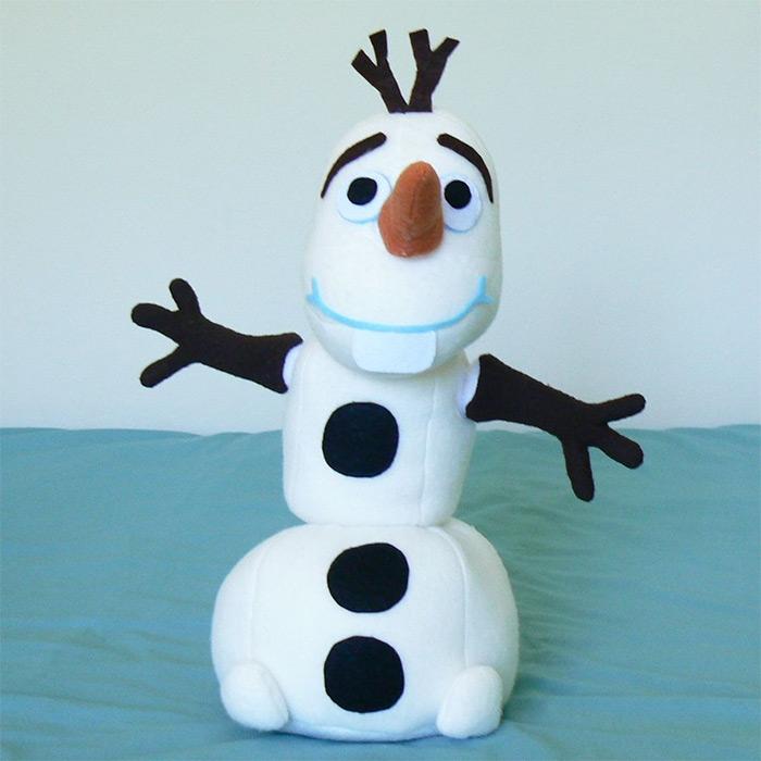 Olaf snowman plush