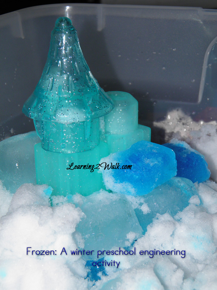 Build Arendelle castle diy