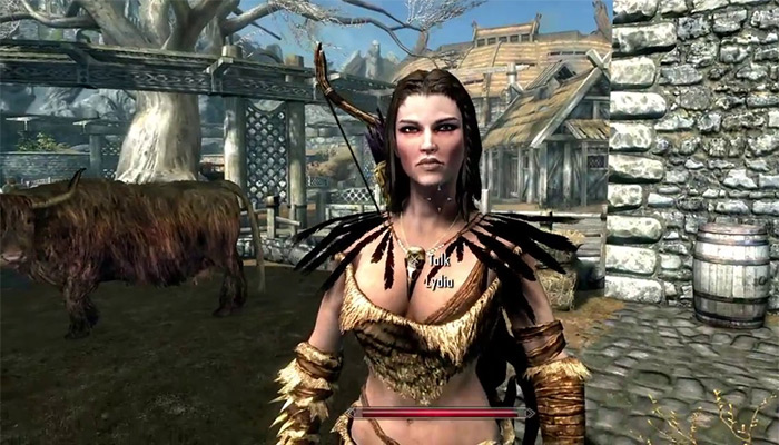 Lydia skyrim wife