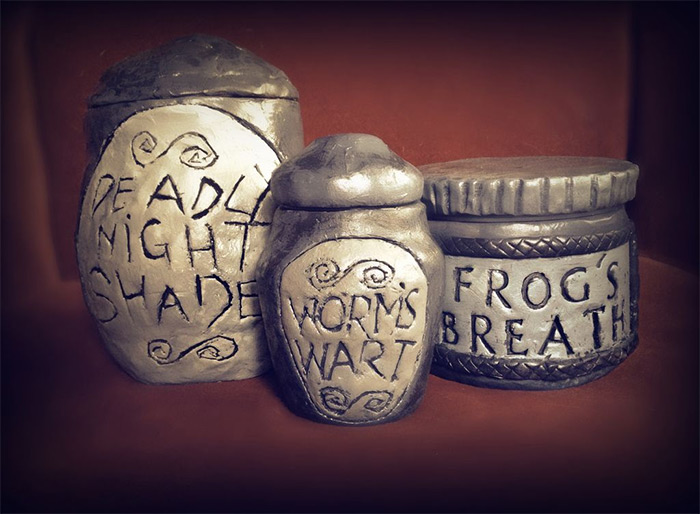 Nightmare before jars diy