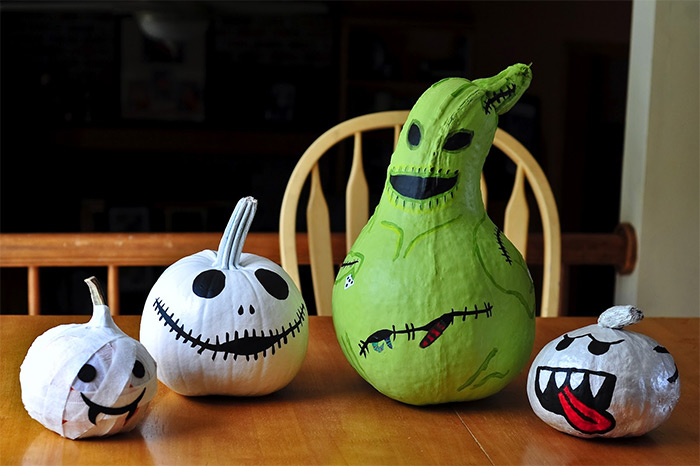 Pumpkin decorating diy