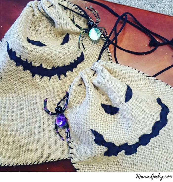 Oogie boogie trick bags