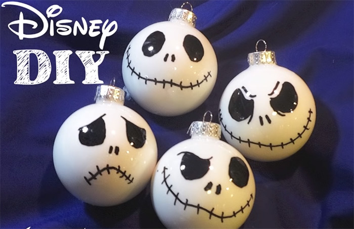 Skellington ornaments diy