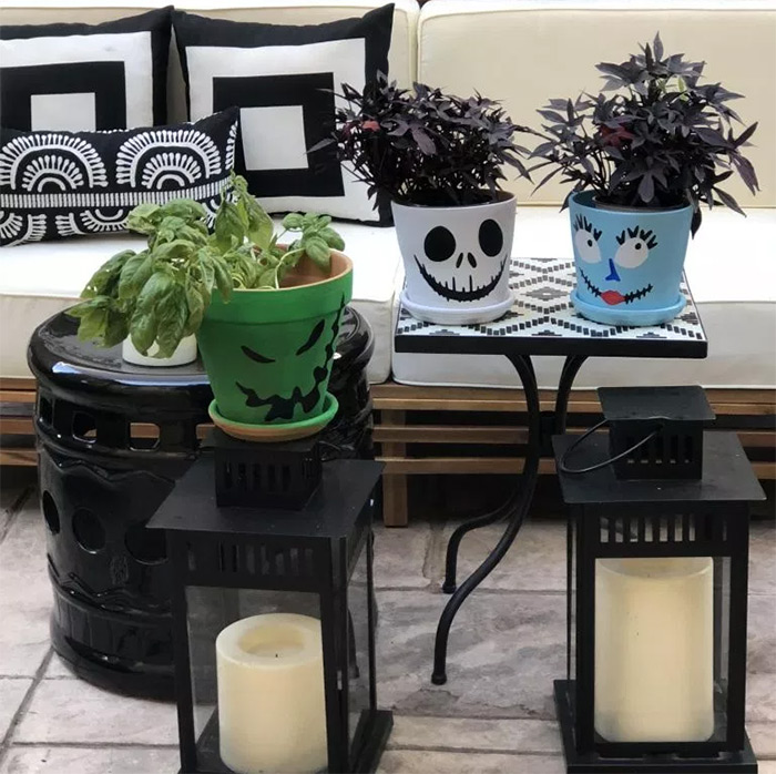 DIY nightmare planters designs