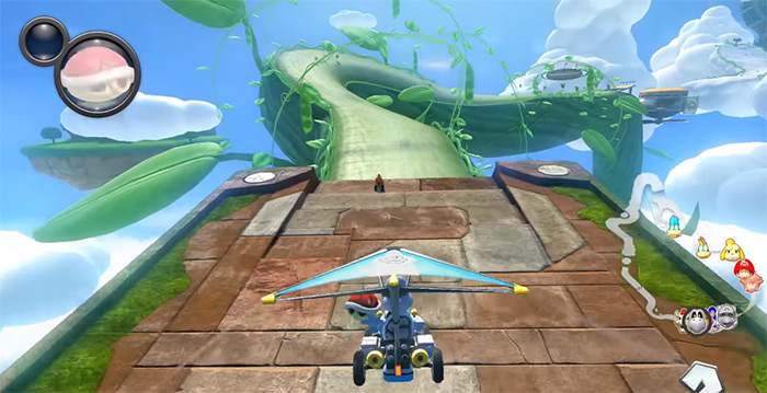 Mario Kart 8 game screenshot