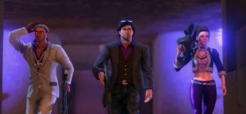 Saints Row Third cast cutscene